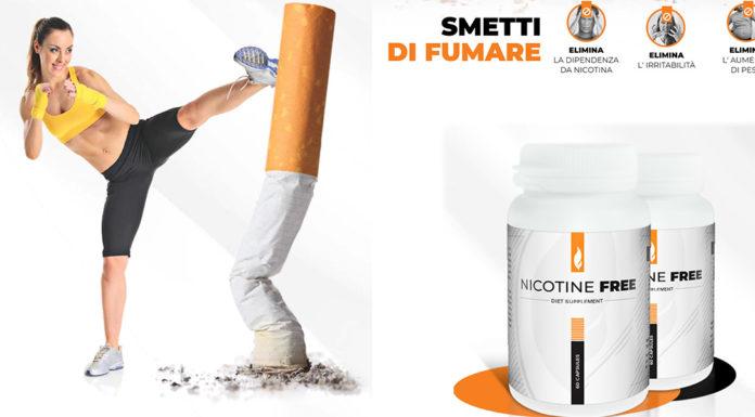 Nicotine Free: aiuta a smettere di fumare e ad eliminare la Dipendenza da Nicotina? Recensioni, opinioni e dove comprarlo