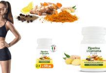Piperina & Curcuma Plus con Zenzero e Limone: integratore dimagrante in capsule, funziona davvero? Recensioni, opinioni e dove comprarlo