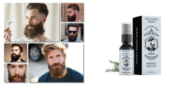 Smart Beard Spray: lozione in spray per ricrescita sana di barba e baffi con effetto ammorbidente, funziona davvero? Recensioni, opinioni e dove comprarlo
