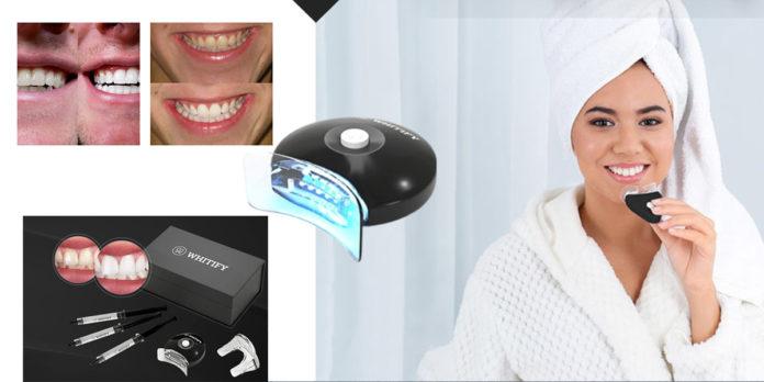 Whitify: kit per sbiancamento denti a LED con trattamento in 6 giorni, funziona davvero? Recensioni, opinioni e dove comprarlo