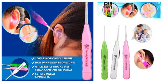 Ear Wax Remover: Pulitore Orecchie Aspiratore Elettrico per rimuovere il Cerume, funziona davvero? Recensioni, opinioni e dove comprarlo