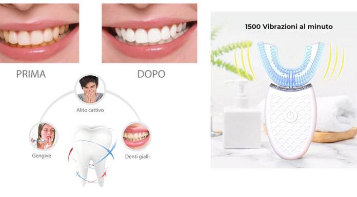 iA-Brush: Spazzolino Elettrico Automatico ad Ultra-Suoni per lo sbiancamento dei denti, funziona davvero? Recensioni, opinioni e dove comprarlo