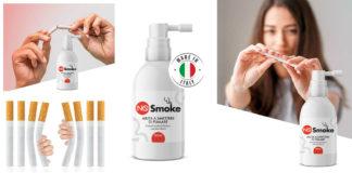 NoSmoke: Spray per aiutare a smettere di fumare, funziona davvero? Recensioni, opinioni e dove comprarlo