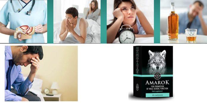 Amarok: Capsule per Ingrandimento e Erezione del Pene, funziona davvero? Recensioni, opinioni e dove comprarlo