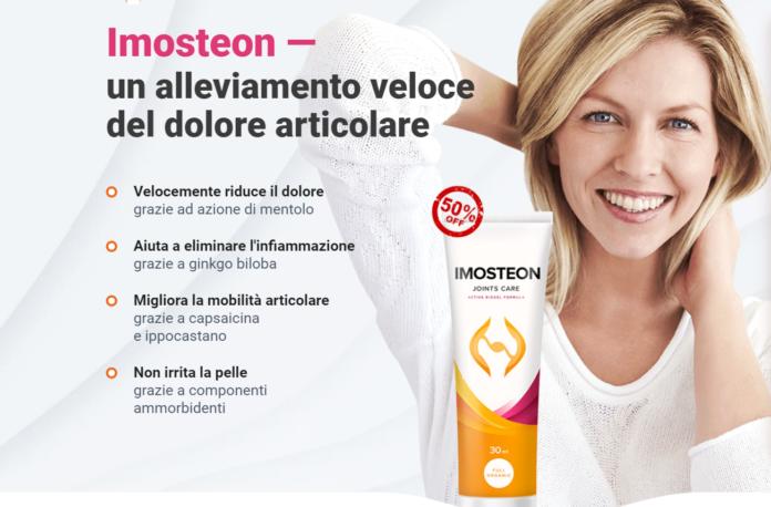 Imosteon: crema gel lenitiva per dolori articolari e muscolari, funziona davvero? Recensioni, opinioni e dove comprarlo