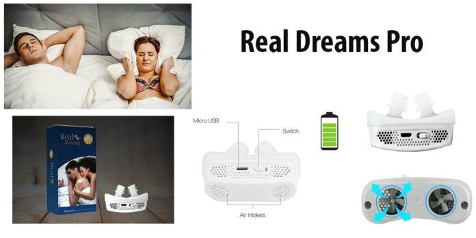 Real Dreams Pro: Dilatatore Nasale Antirussamento, funziona davvero? Recensioni, opinioni e dove comprarlo