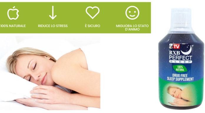 RXB Perfect Sleep Sogni Perfetti: integratore alimentare per combattere insonnia e ansia, funziona davvero? Recensioni, opinioni e dove comprarlo