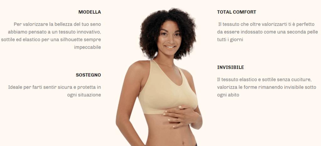 UpLift Comfortisse: reggiseno senza cuciture, a taglio vivo e modellante, aiuta a sostenere e modellare il seno, funziona davvero? Recensioni, opinioni e dove comprarlo