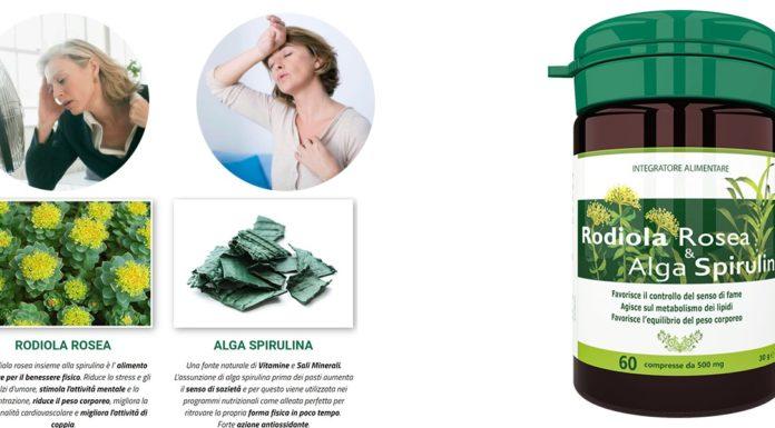 Rodiola Rosea e Alga Spirulina: integratore alimentare in compresse per il controllo del peso corporeo, funziona davvero? Recensioni, opinioni e dove comprarlo