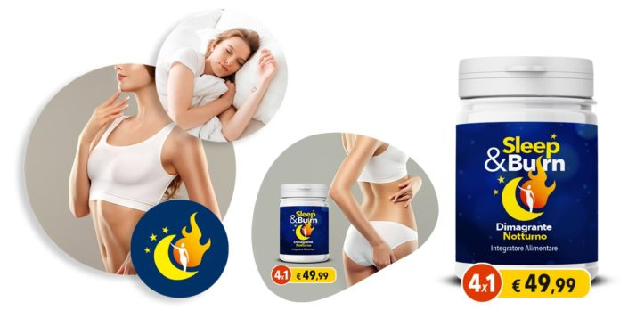 Sleep&Burn: Integratore Dimagrante Notturno, funziona davvero? Recensioni, opinioni e dove comprarlo