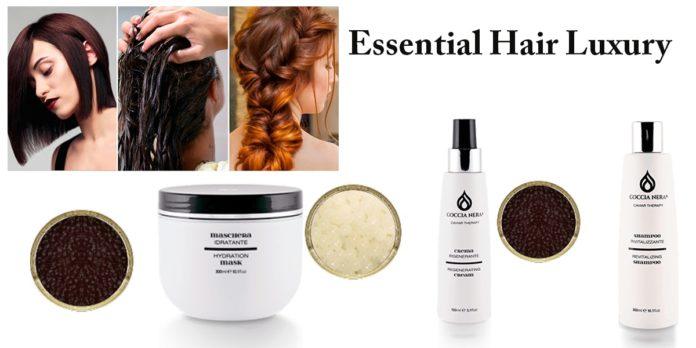 Essential Hair Luxury Goccia Nera: Kit professionale al Caviale per Capelli, funziona davvero? Recensioni, opinioni e dove comprarlo