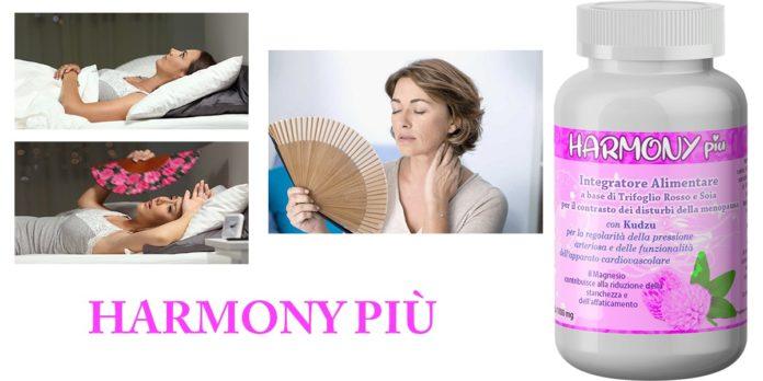 Harmony Più: integratore per disturbi della menopausa, funziona davvero? Recensioni, opinioni e dove comprarlo