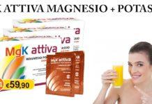 MG. K Attiva: integratore alimentare energizzante a base di Magnesio e Potassio, funziona davvero? Recensioni, opinioni e prezzo