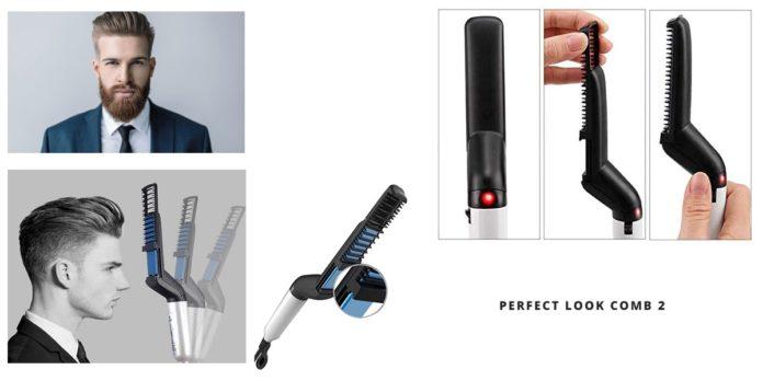 Perfect Look Comb 2: lisciante elettrico per barba e capelli, funziona davvero? Recensioni, opinioni e dove comprarlo