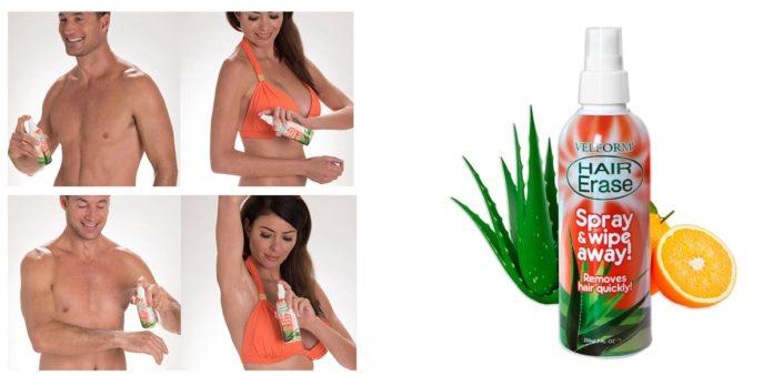 Velform® Hair Erase: spray depilatorio immediato e indolore, funziona davvero? Recensioni, opinioni e dove comprarlo