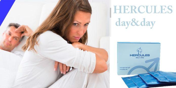 Hercules day & day: gel per migliorare il vigore, funziona davvero? Recensioni, pareri e dove comprarlo