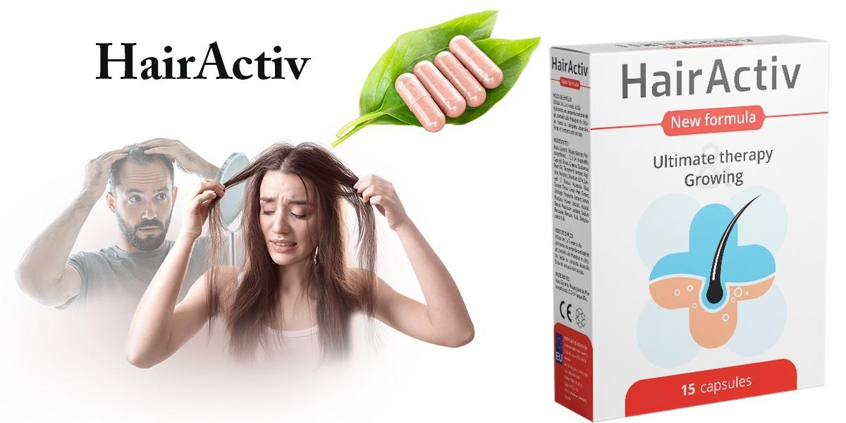 Hair Activ: integratore per la Caduta dei Capelli ...