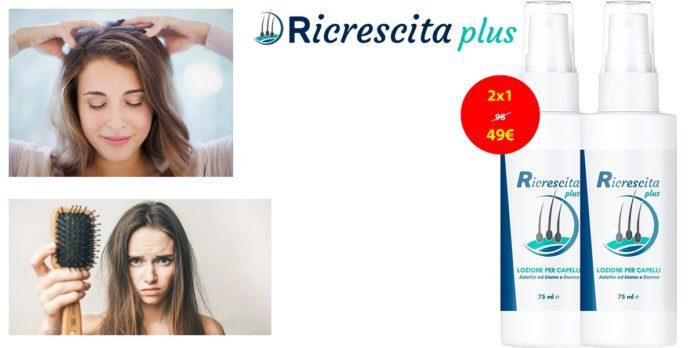 Ricrescita Plus: spray concentrato per ricrescita capelli, funziona davvero? Recensioni, opinioni e dove comprarlo