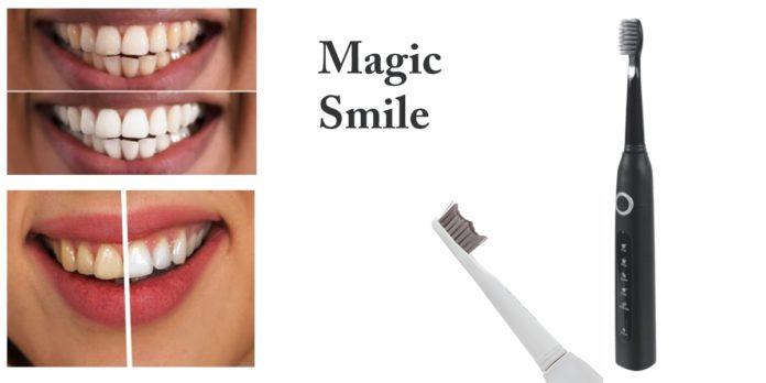 Magic Smile: spazzolino a impulsi sonici, funziona davvero? Recensioni, opinioni e dove comprarlo