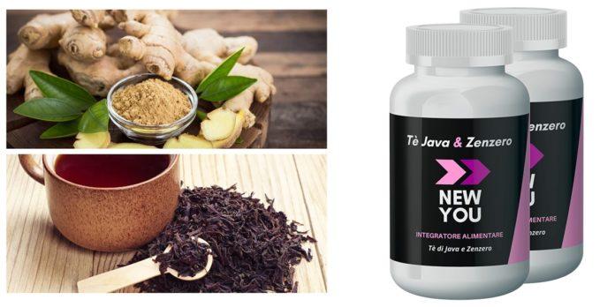 New You: integratore dimagrante con Te Java e Zenzero, funziona davvero? Recensioni, opinioni e dove comprarlo