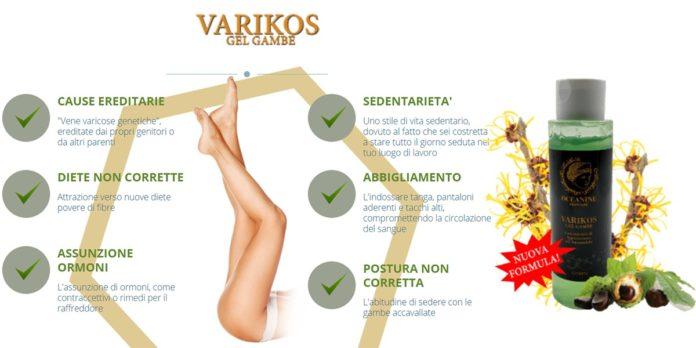 Varikos: Crema gel per combattere le Vene Varicose, funziona davvero? Recensioni, opinioni e dove comprarlo