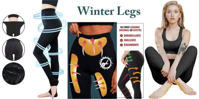 Winter Legs : Leggings Invernale Snellente e Modellante, funziona davvero? Recensioni, opinioni e dove comprarlo