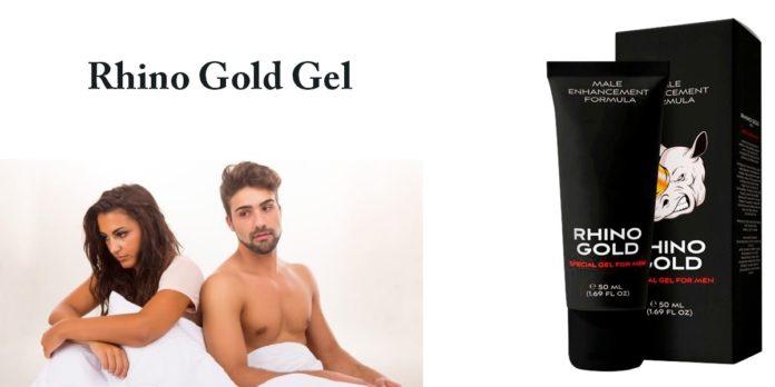 Rhino Gold: Gel per Ingrandimento e Allungamento del Pene, funziona davvero? Recensioni, opinioni e dove comprarlo