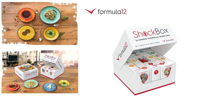 Shock Box Formula 12: box di alimenti per dimagrimento in 12 giorni, funziona davvero? Recensioni, opinioni e prezzo