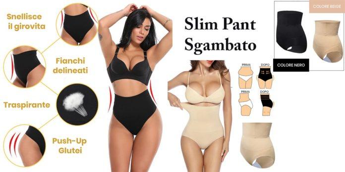 Slim Pant Sgambato: Slip intimo modellante e snellente girovita e glutei, funziona davvero? Recensioni, opinioni e dove comprarlo