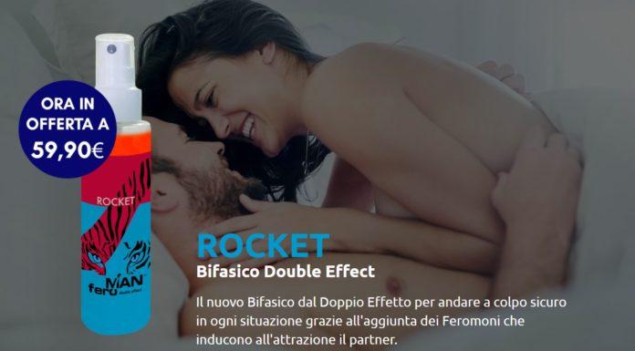 Rocket FeroMan: Spray Bifasico double effects con Feromoni, funziona davvero? Recensioni, opinioni e dove comprarlo