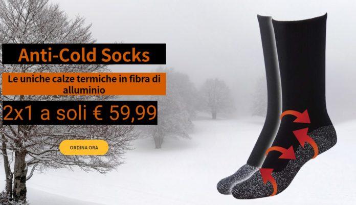 Stepluxe Anti-Cold Socks: calze termiche in fibra di alluminio, funzionano davvero? Recensioni, opinioni e dove comprarlo