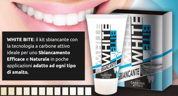 White Bite: kit gel sbiancante denti con carbone attivo, funziona davvero? Recensioni, opinioni e dove comprarlo