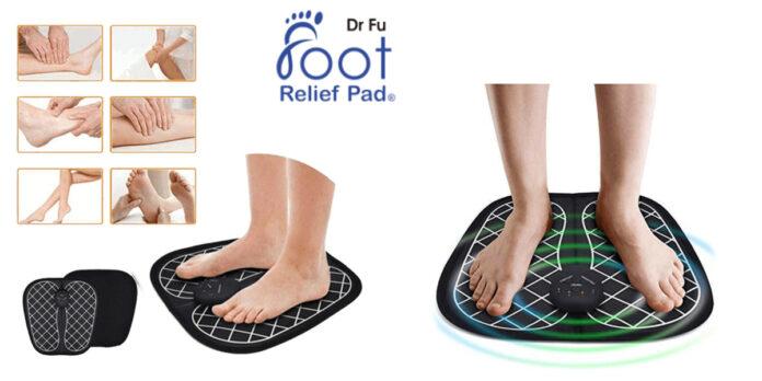 Foot Relief Pad: Massaggiatore per i piedi EMS elettrostimolatore, funziona davvero? Recensioni, opinioni e dove comprarlo