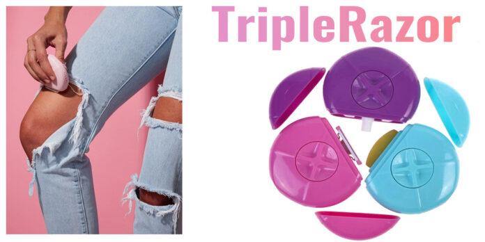 Triple Razor: epilatore portatile All-In-One, funziona davvero? Recensioni, opinioni e dove comprarlo